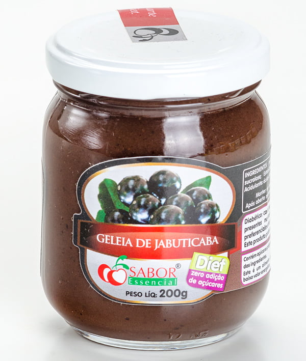 Geleia de Jabuticaba Diet Pote 200g