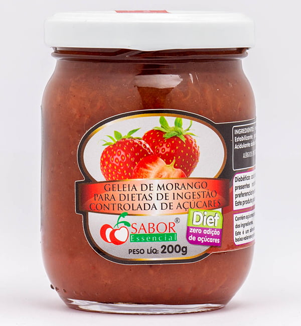 Geleia de Morango Diet Pote 200g