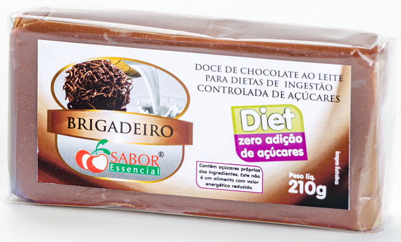 Doce de Chocolate Diet Tablete 210g