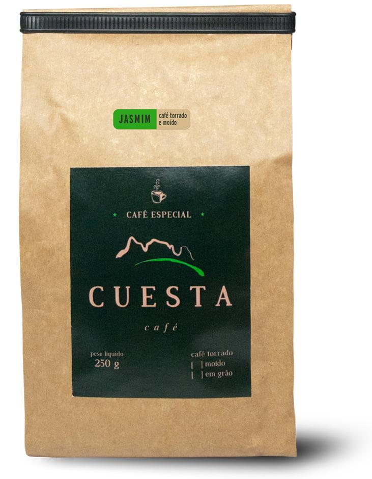 Café Cuesta Jasmin Torrado e Moído 250g