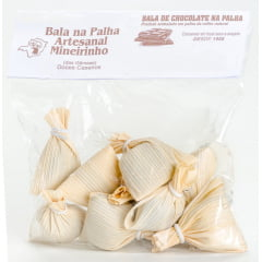 Bala Chocolate na Palha Pacote 200g