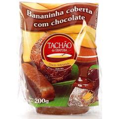 Bananinha Coberta com Chocolate Pacote 200g