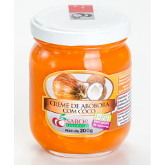 Creme Abóbora Coco Diet Pote 200g