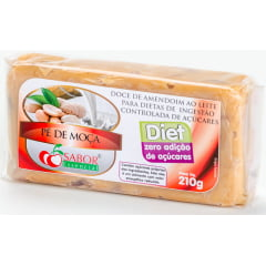 Doce de Amendoim Diet Tablete 210g
